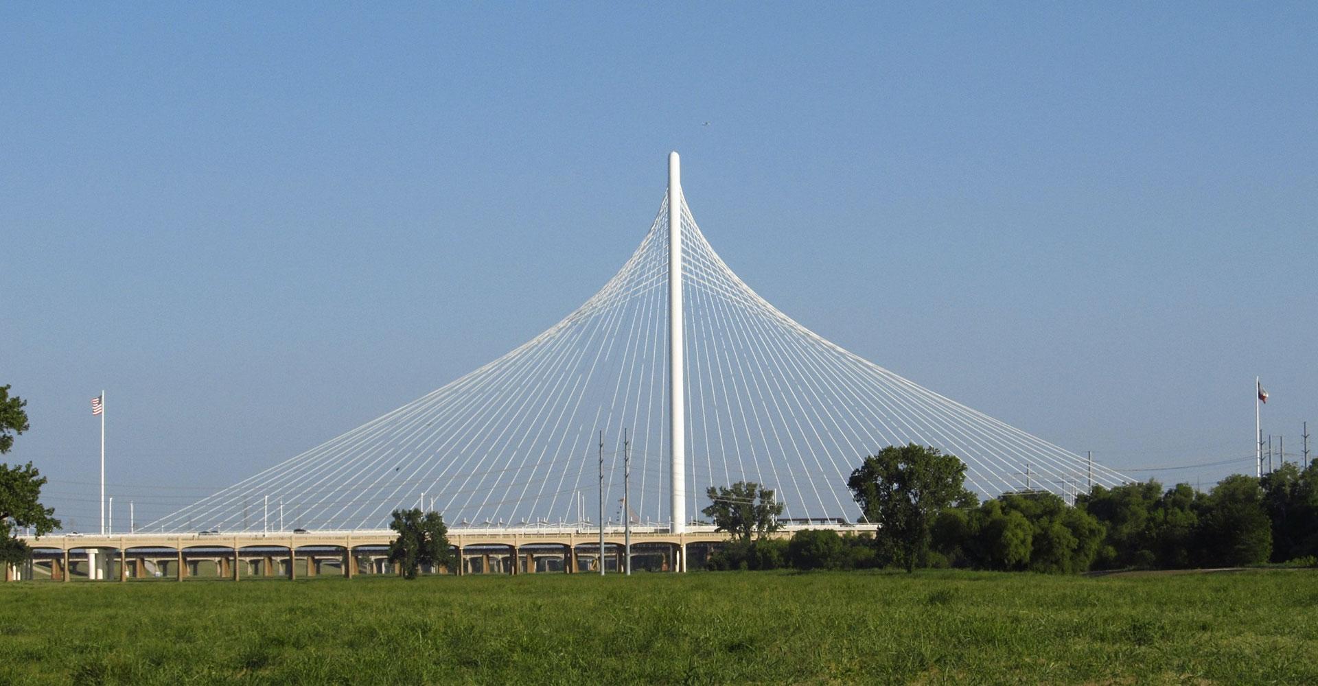 Woodall Rogers bridge / Dallas